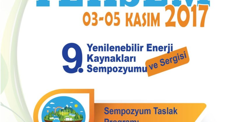 Antalya 9. Yenilenebilir Enerji Kaynakları Sempozyumu